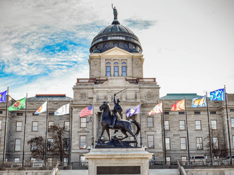 Montana Capitol Jan. 2021