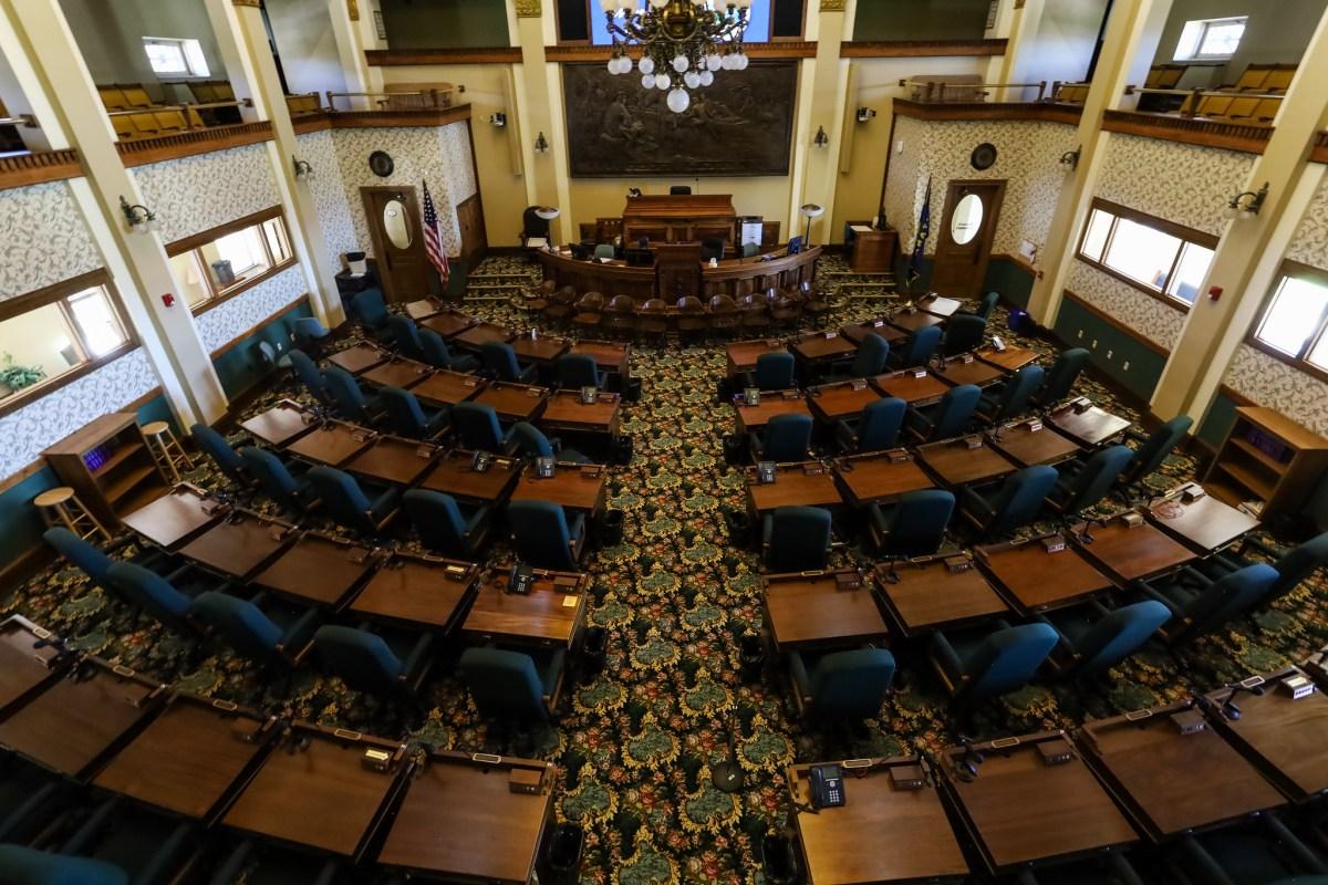 Montana Capitol House chamber