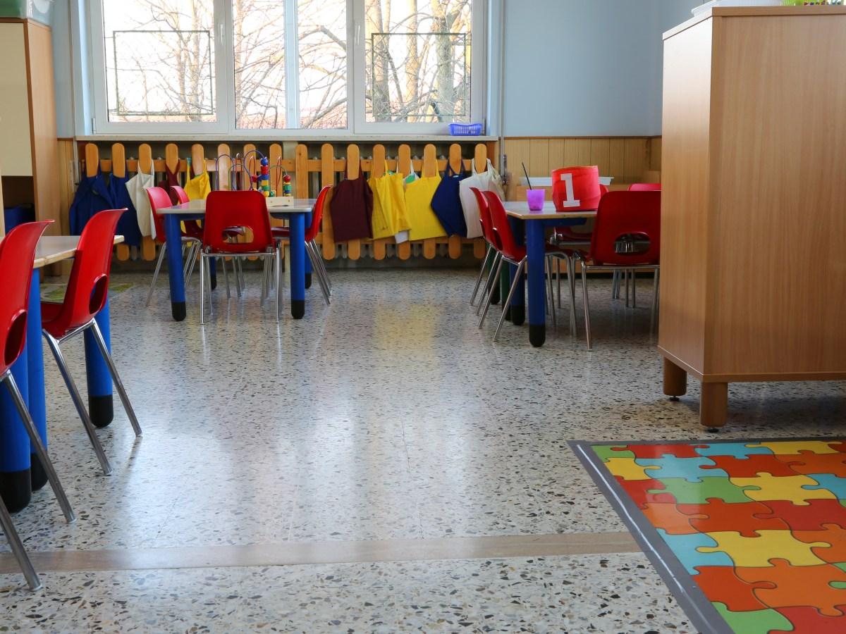 childcare pre-k kindergarten classroom
