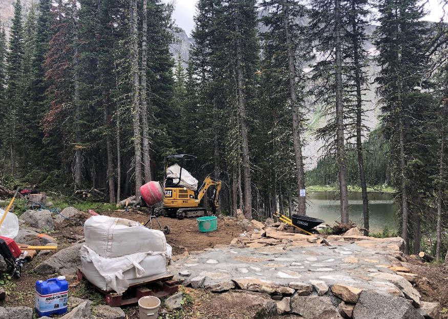 Crazy Mountain Twin Lakes heliski cabin