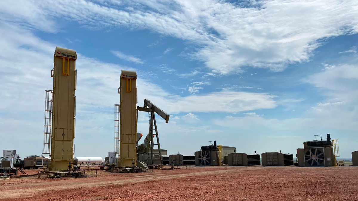Bitcoin fracking turns waste gas to digital gold in eastern Montana